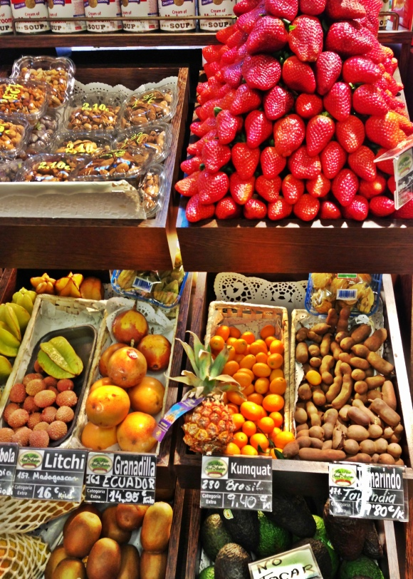 Frutas exóticas y no tanto.