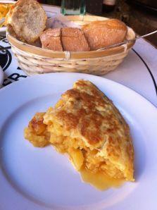 Tortilla de patatas de La Ardosa