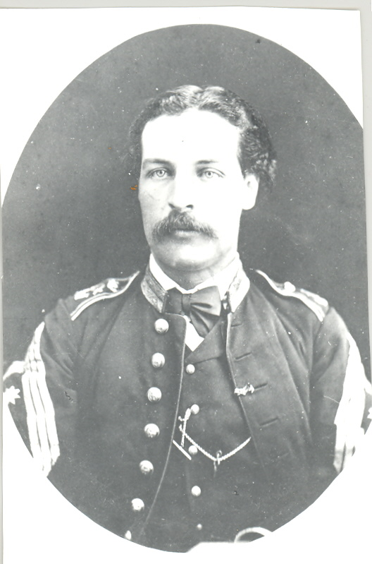 Enrique Ardois y Casaus, Comandante de Infantería de Marina. 1844 -1895
